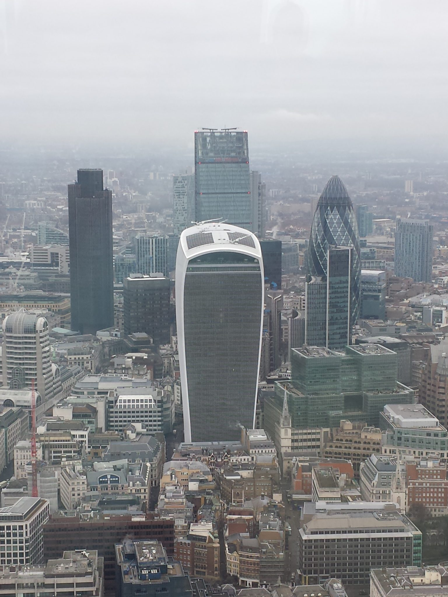 the view from the shard talkie walkie london