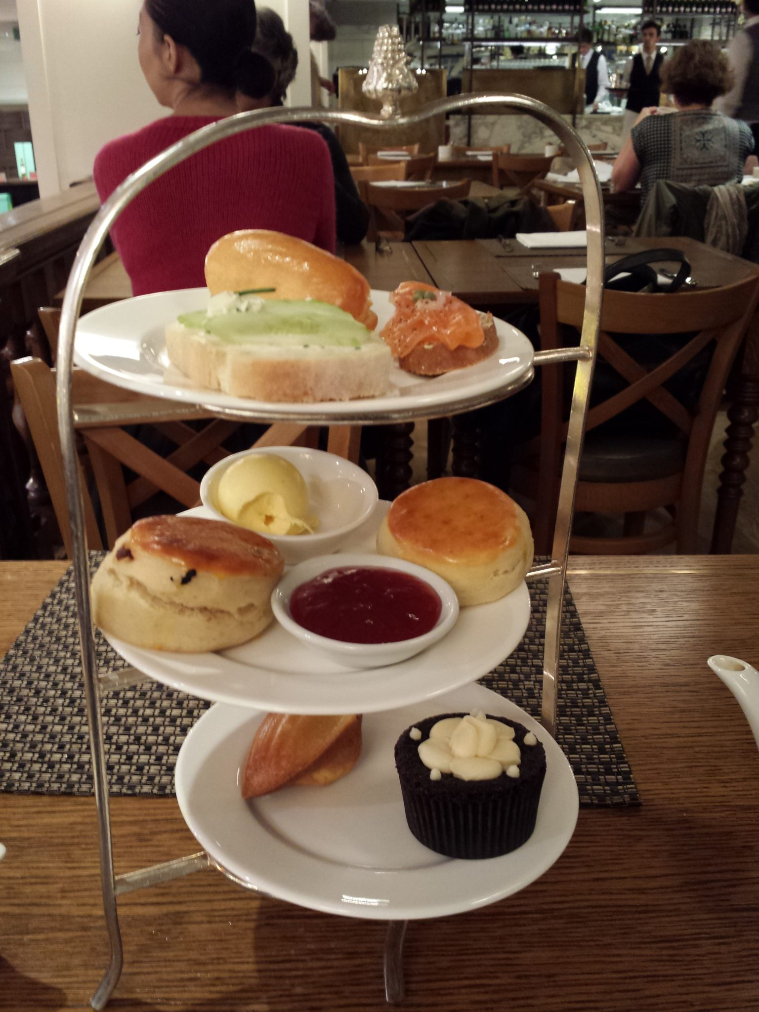 Afternoon tea @ F&M