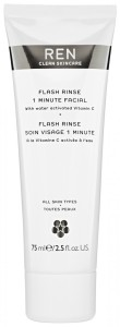 flash_rinse_1_minute_facial ren skincare