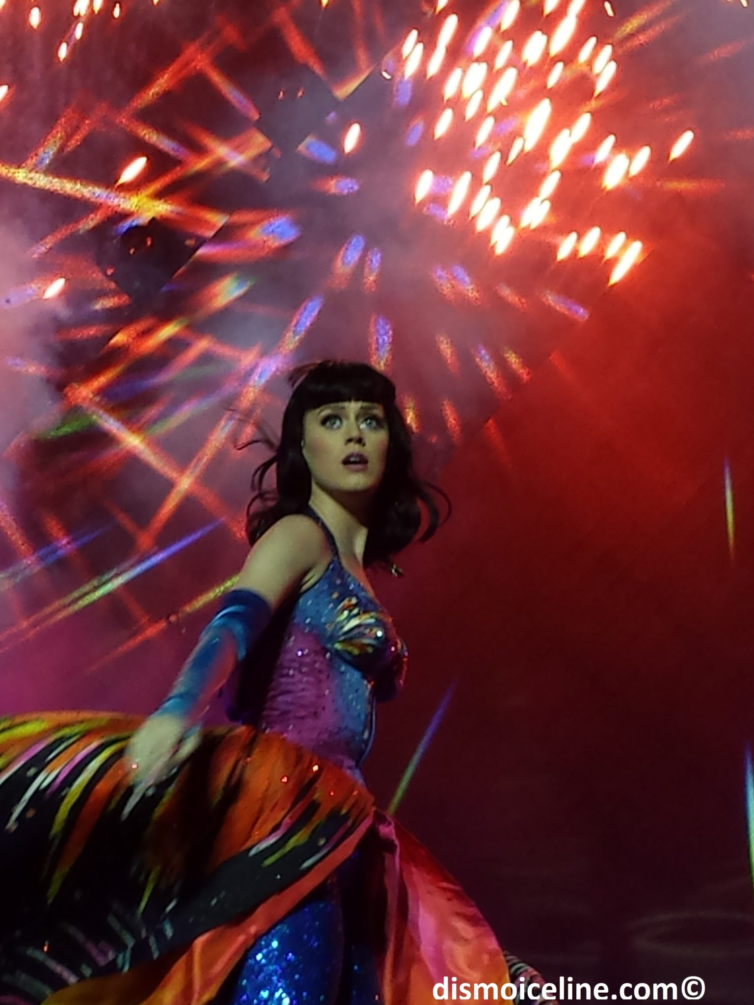 Katy perry hydro glasgow prismatic tour