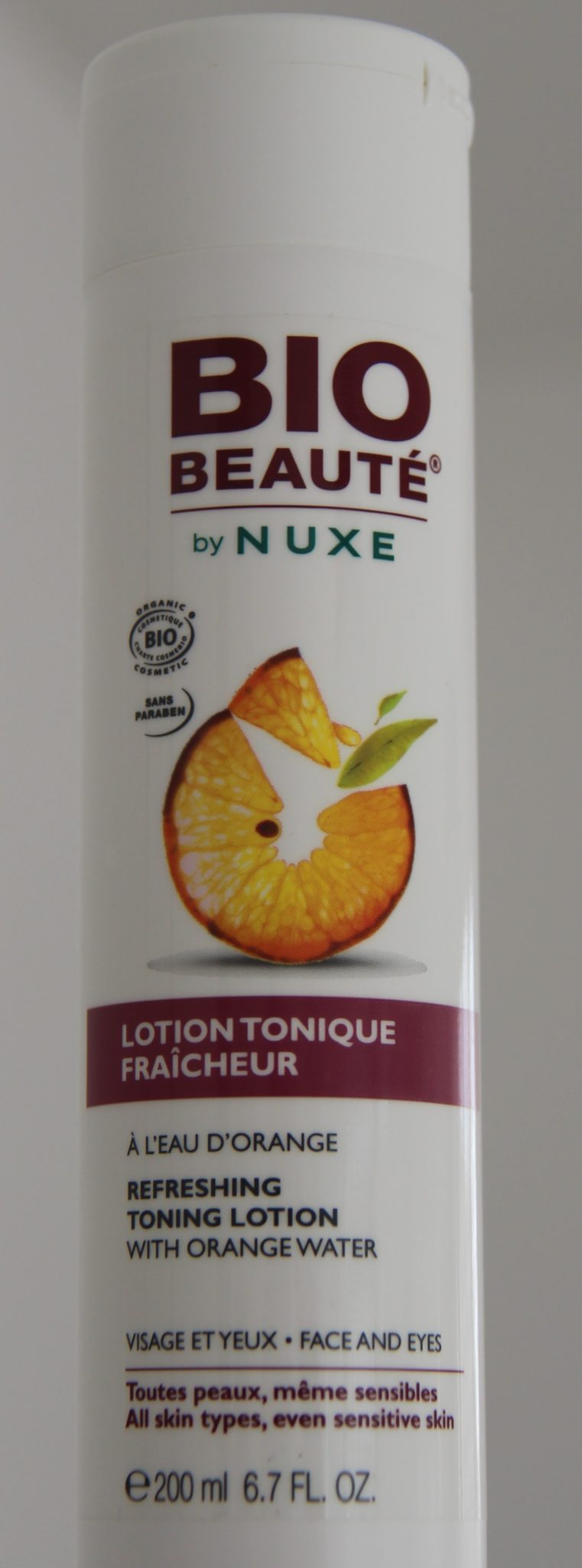 bio beauté by nuxe tonique