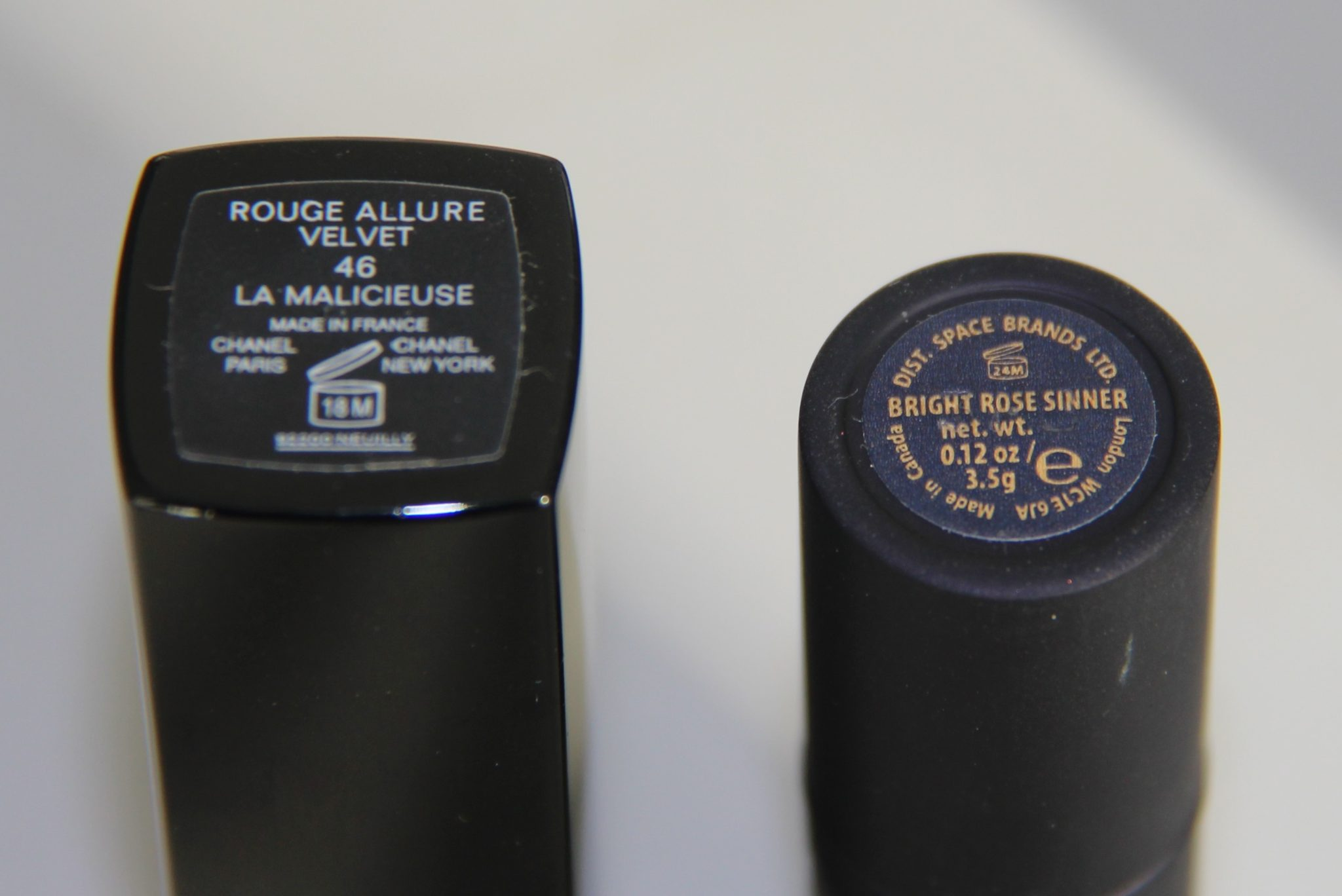 Rouge à lèvres chanel malicieuse lipstick queen sinner bright rose