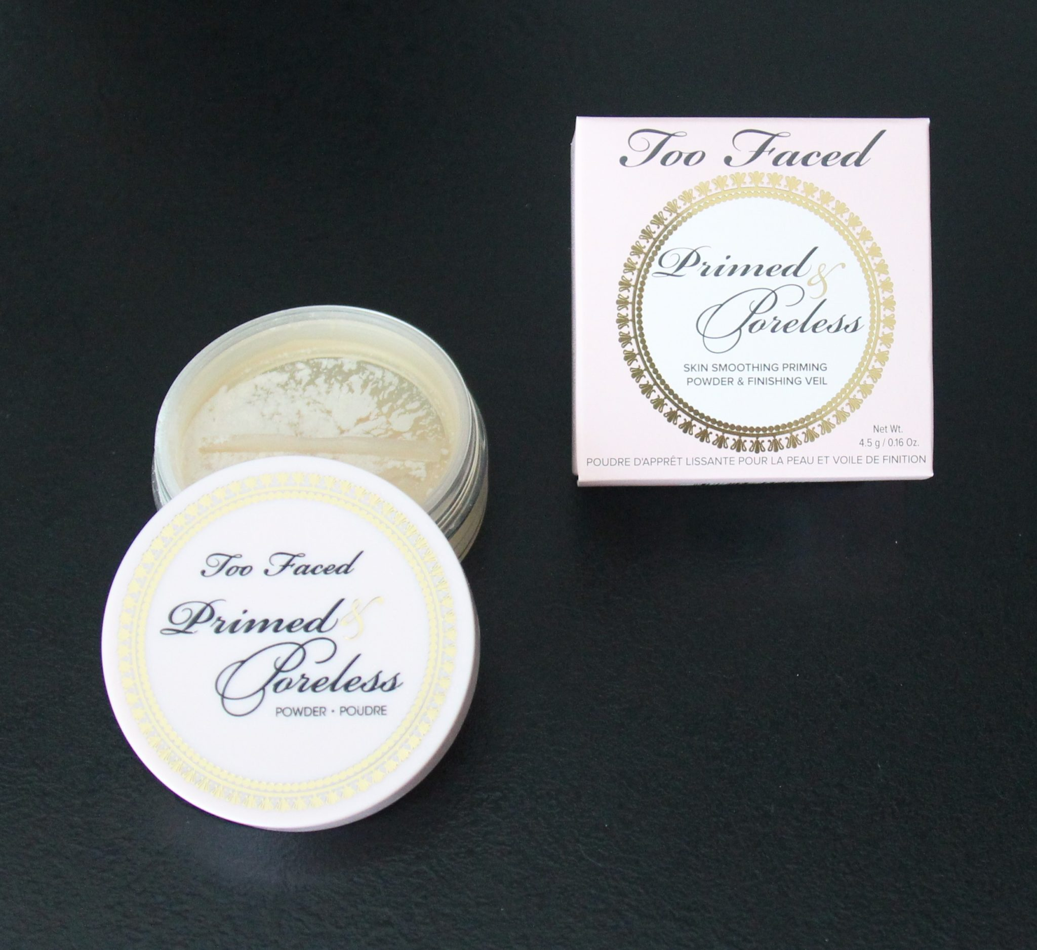 Too Faced Primed Poreless Powder Poudre Dis Moi Céline 1