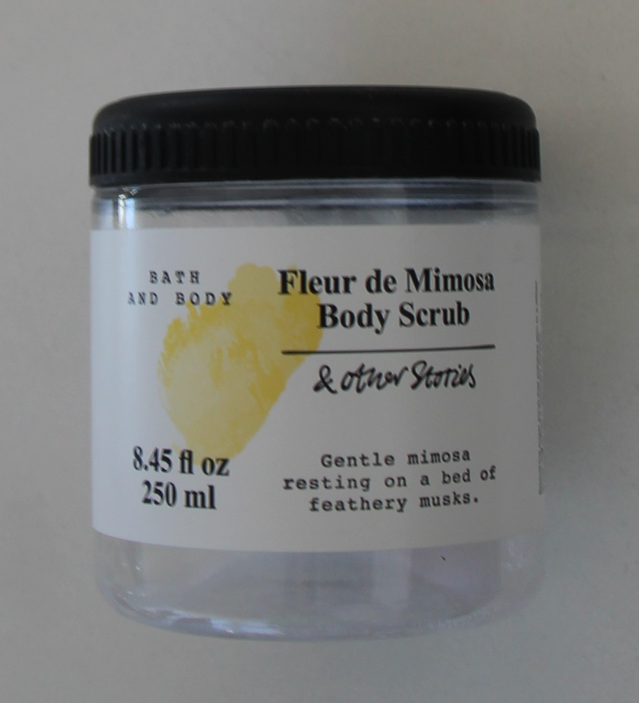 Fleur mimosa body scrub other stories dismoicéline